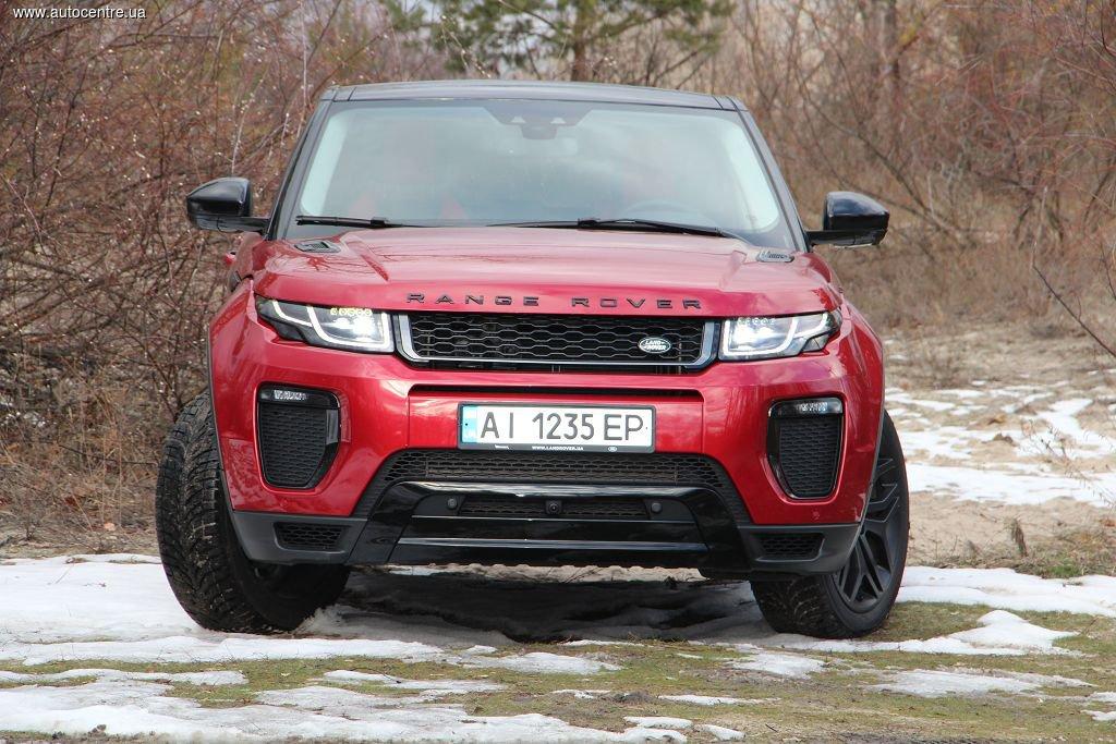 Тест Range Rover Evoque HSE Dynamic SD4: Правильное воспитание