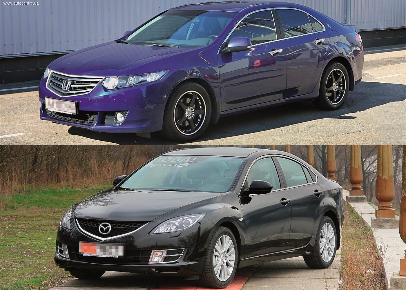 Сравнительный обзор Honda Accord и Mazda6: Идейные конкуренты