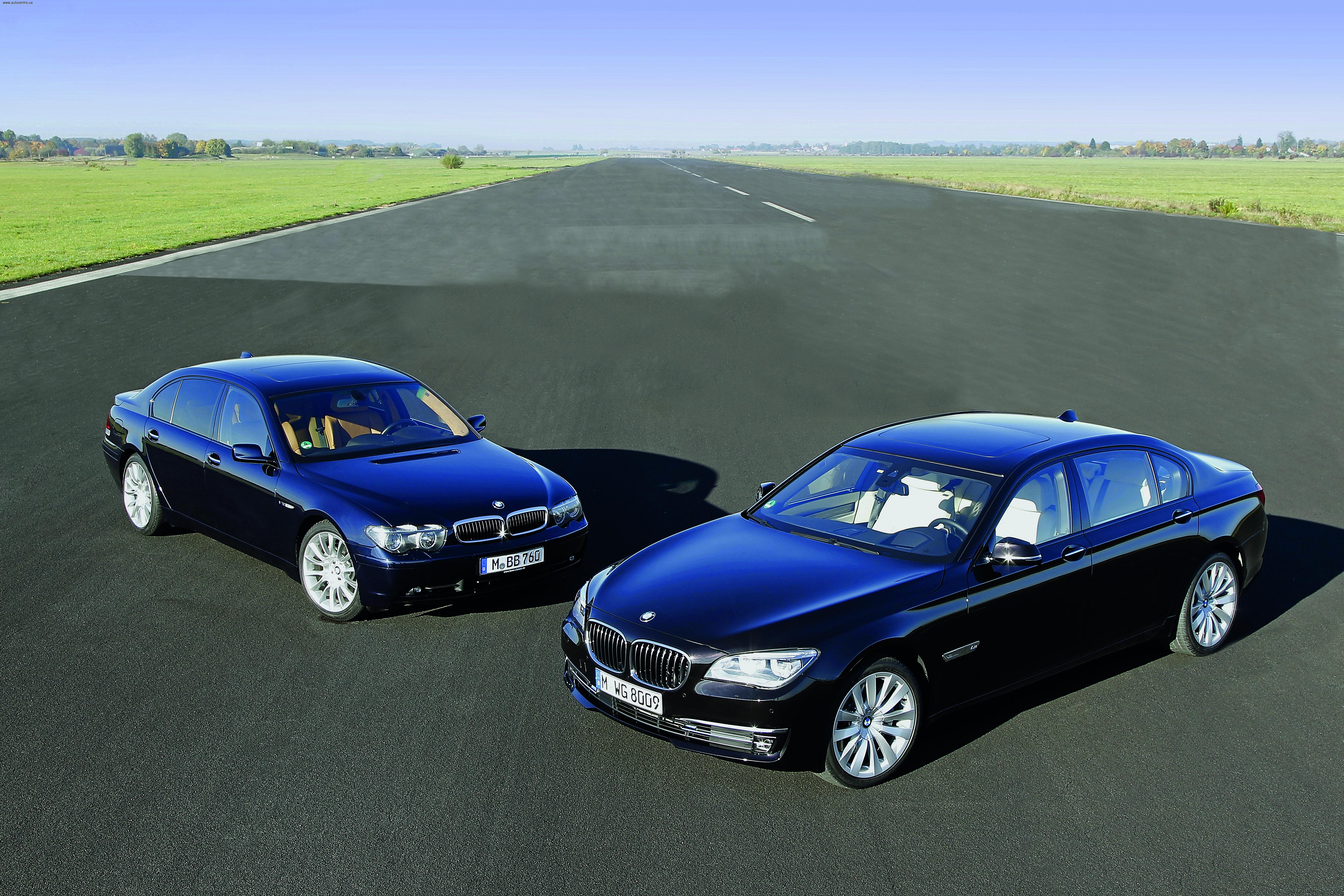 Обзор BMW 7-й серии Е65/Е66, F01/F02: Две эпохи