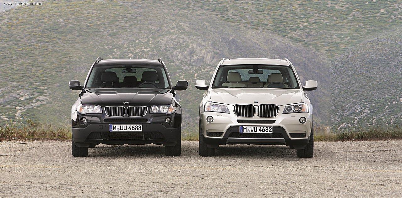Обзор BMW X1 и BMW X3 (E83): Младшие иксы
