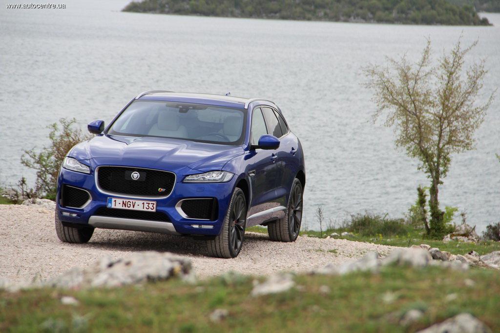 Тест-драйв Jaguar F-Pace: Хищник, готовый услужить