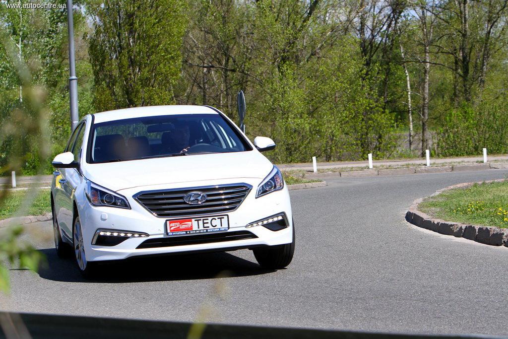 Тест-драйв новой Hyundai Sonata: Под маской солидности