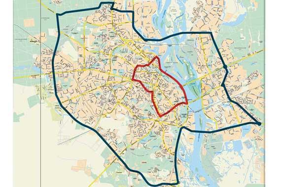 Карта объездного и запретного