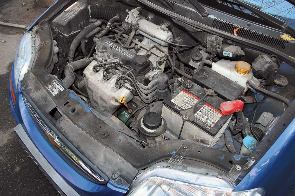 Шевроле авео ремонт своими руками двигатель