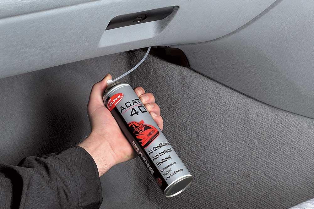 Чистка кондиционера в машине