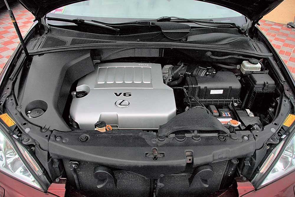 Двигатель Lexus RX Ходовая