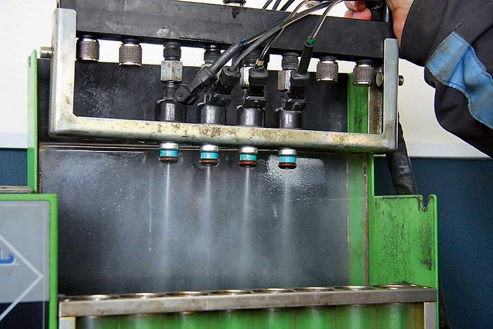 Топливные форсунки промывка на стенде как это сделать