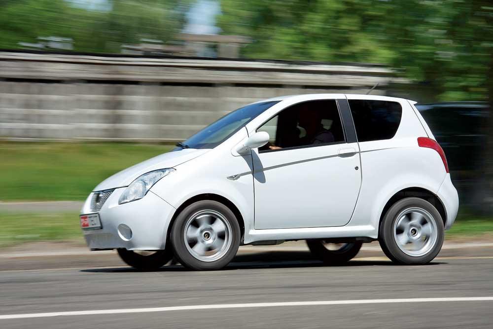 Дешевый электромобиль - Bio Auto EVA-2