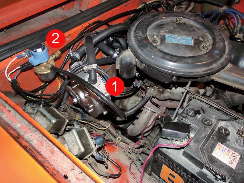 Как сделать газовое оборудование в автомобиле6