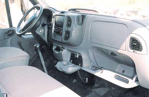 Панель приборов нового Ford