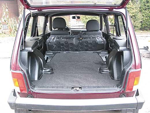 Багажник нива 2131