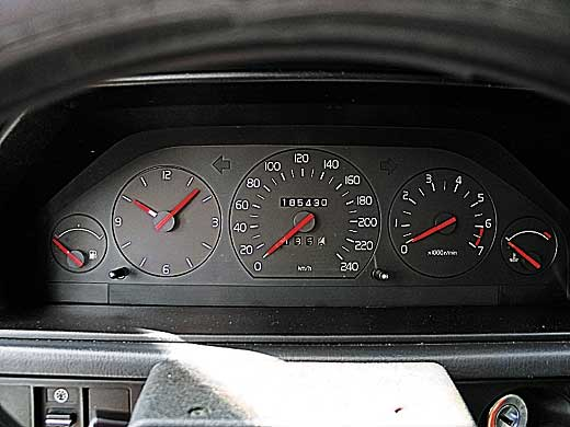 Щитки приборов Volvo 940