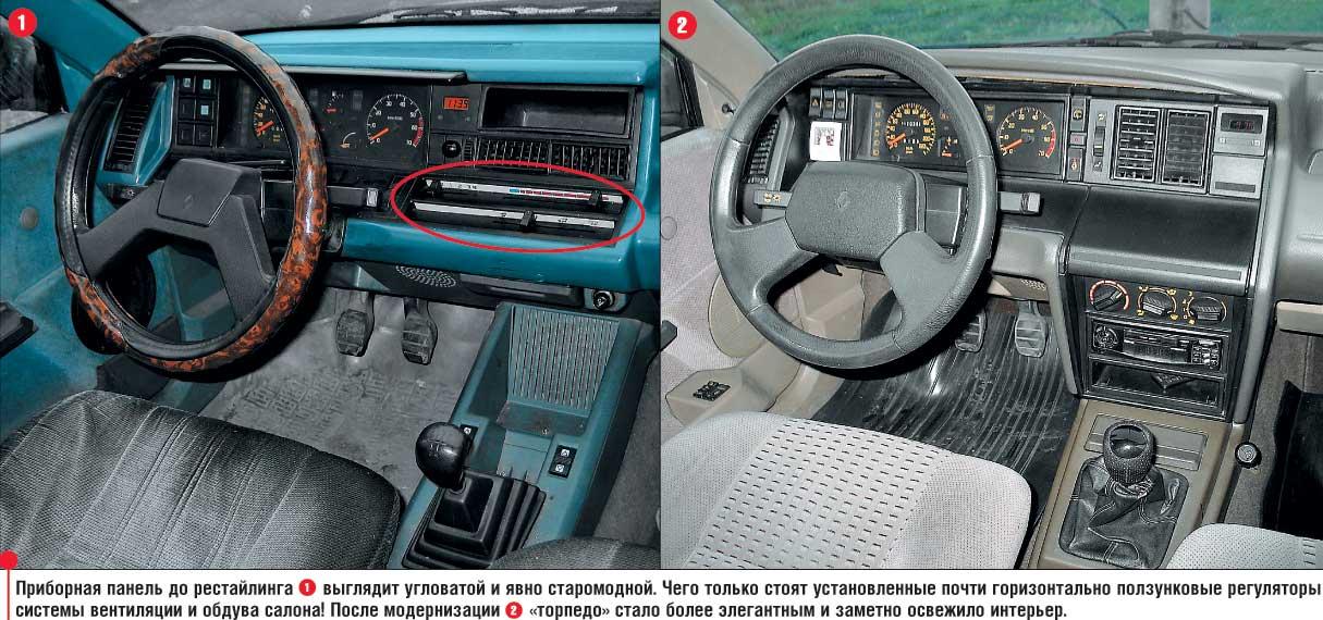 В модельном ряду Renault