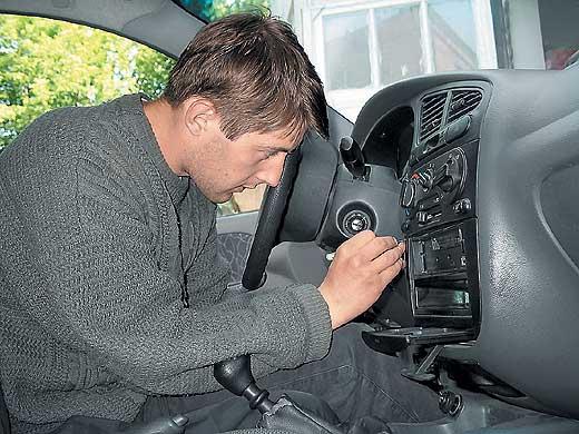 замена автомагнитолы на Daewoo