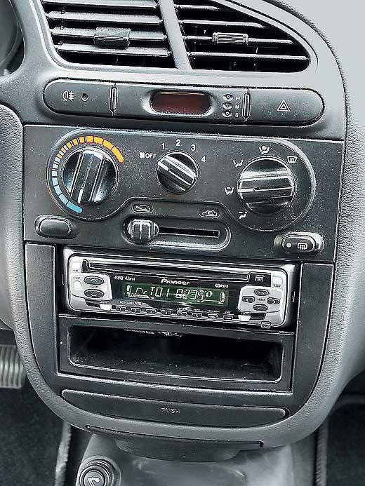 Автомагнитолы Daewoo Sens.