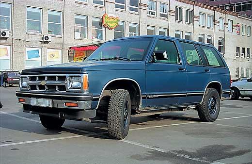 Chevrolet Blazer S10 1991