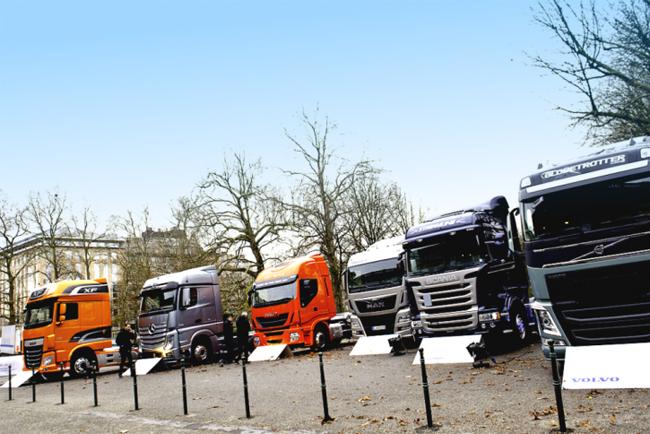 Рынок коммерческих автомобилей в Европе продолжает расти