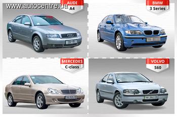 Сравнительный обзор Audi A4, BMW 3Series, Mercedes C-сlass, Volvo S60: Элита, на проверку!