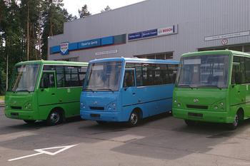Автобусы ЗАЗ и коммерческая техника ТАТА по ценам 2013 года