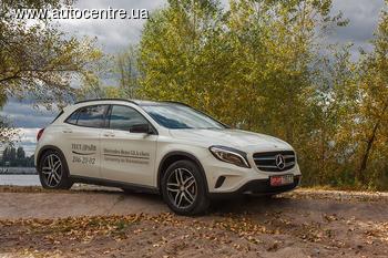 Тест-драйв Mercedes-Benz GLA 220 CDI 4MATIC: Самый младший брат «кубика»