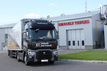 Renault Trucks T в Україні