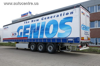 Полуприцепы Schmitz GENIOS