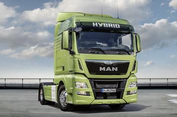 MAN TGX Hybrid