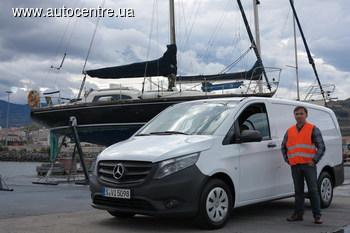 Тест-драйв новейшего Mercedes-Benz Vito