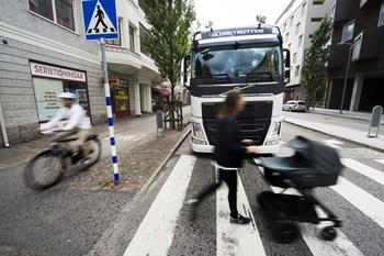 Система кругового обзора от компании Volvo Trucks