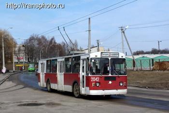 Подержанный троллейбус