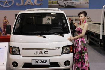 Грузовик JAC X200