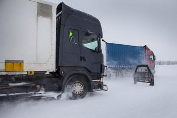 Зимние шины на грузовиках