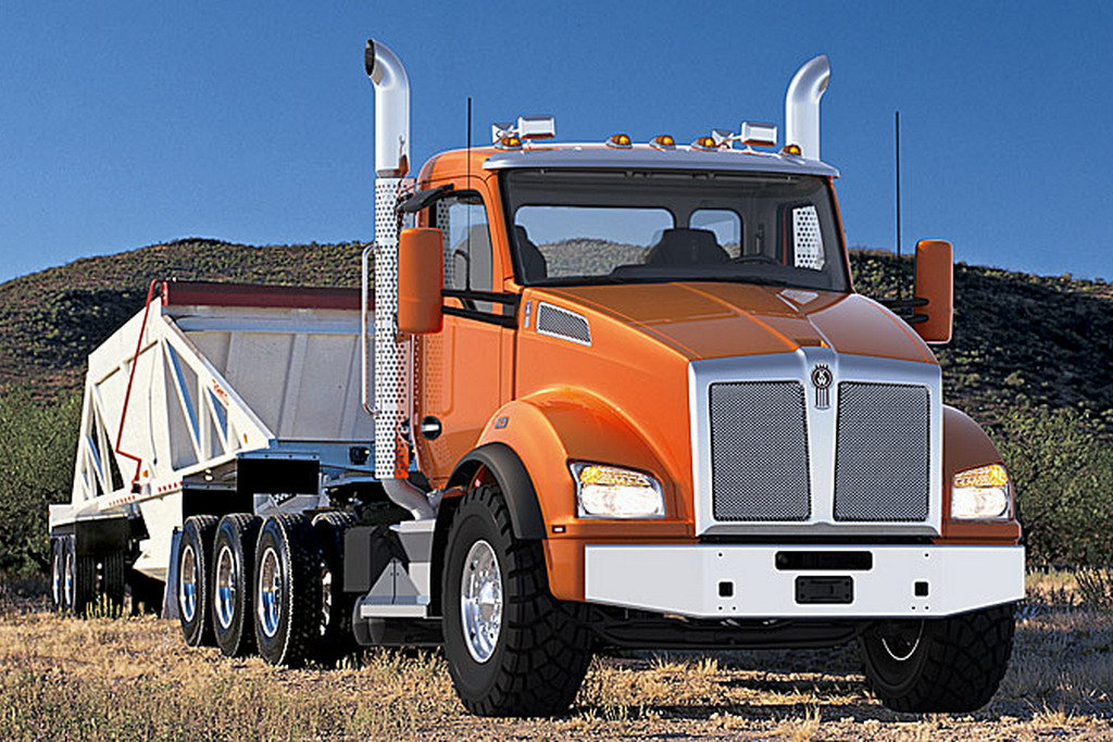 Грузовик Kenworth T800 Vocation