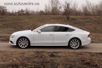 Тест-драйв Audi А7 Sportback: Снежная королева
