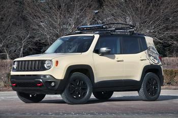 Jeep презентует семь концепт-каров