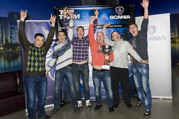 соревнование Scania Top Team