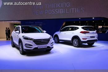 Новый Hyundai Tucson в Украине появится уже летом