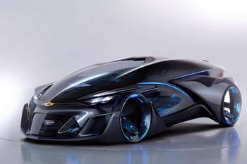 Шанхайский автосалон: футуристический концепт Chevrolet-FNR
