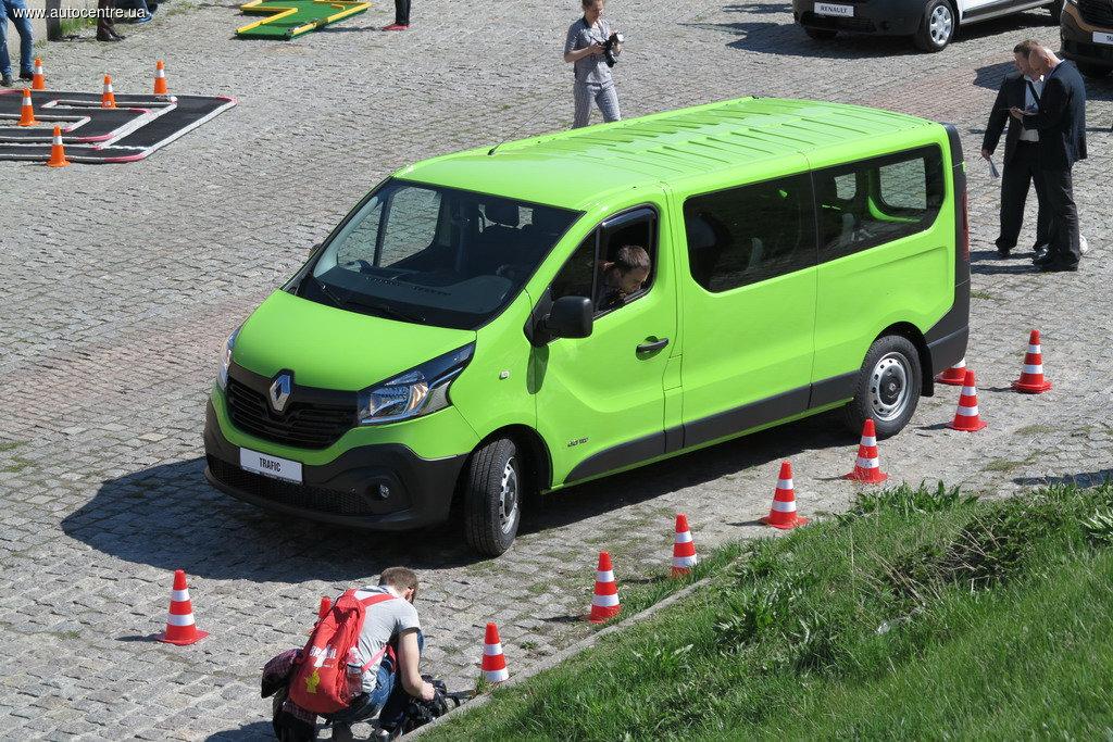В Украине представили новый Renault Trafic