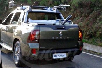 Пикап Renault Oroch засветился на дорогах