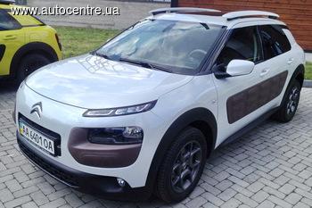 В Киеве состоялась презентация кроссовера Citroen C4 Cactus