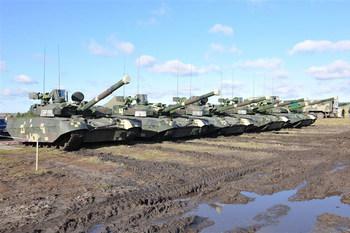 Особенности танка Т-84У «Оплот» (+ВИДЕО)