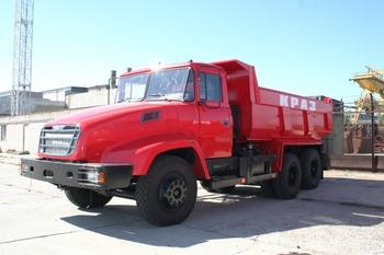 Украинские газовики купили КрАЗы с интегральным капотом