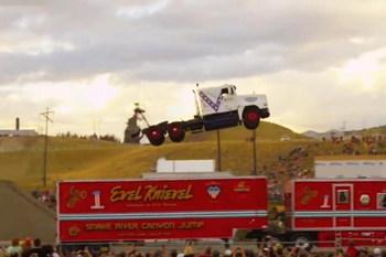 Установлен мировой рекорд в прыжках на грузовике (+ВИДЕО)