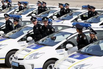 Патрульная полиция дала фору милиции