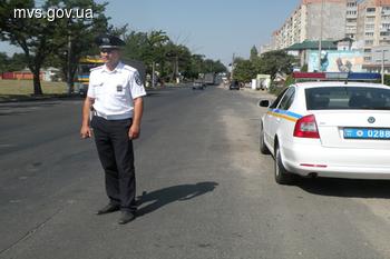 В Николаевской области ГАИ упорно пытается работать
