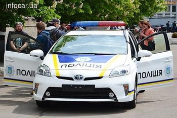 МВД закупило для патрульных авто правильные мигалки