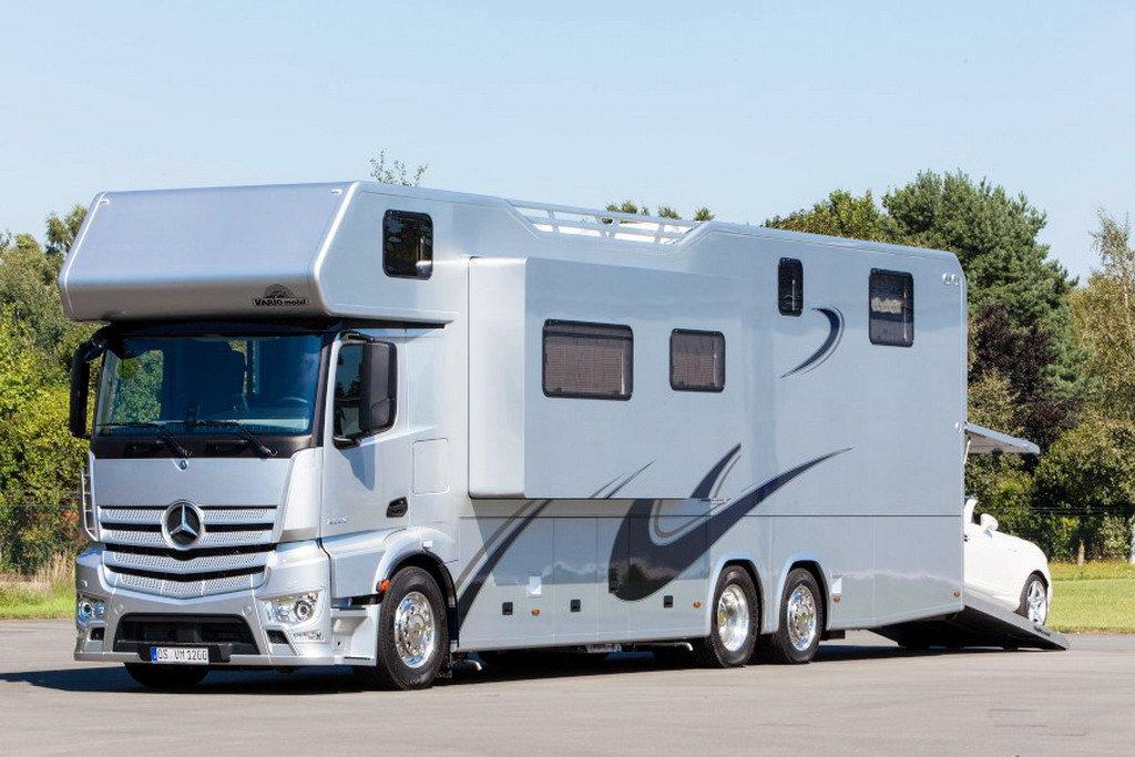 Mercedes-Benz показал кемпер мечты
