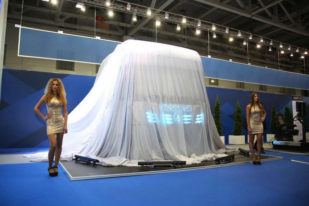 КАМАЗ показал кабину 2020 года