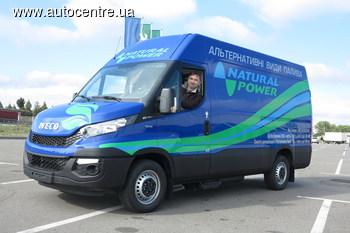 Тест-драйв «Фургона года» Iveco New Daily: метан против дизеля